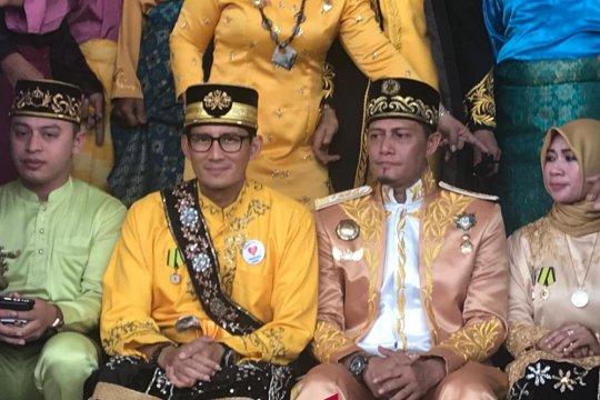 Sandiaga kunjungi Istana Kadriya Kesultanan Pontianak