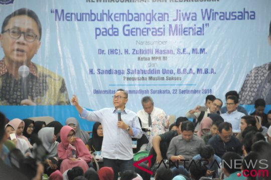 Zulkifli ingatkan generasi milenial cerdas di tahun politik