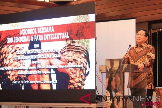 300 purnawirawan jenderal mendukung Prabowo-Sandiaga