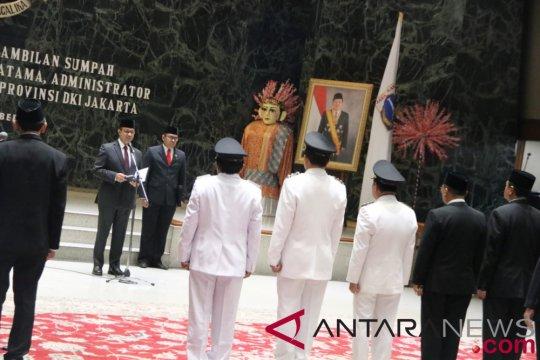 Jakarta lantik 16 pejabat pratama-administrator baru