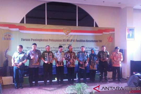 BKKBN tingkatkan metode kontrasepsi jangka panjang di faskes TNI