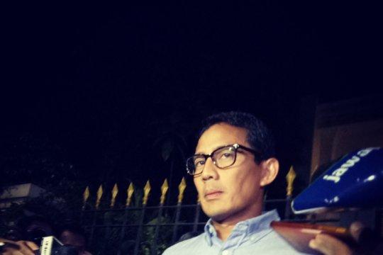 Sultan HB X minta Sandiaga jaga pilpres tetap damai