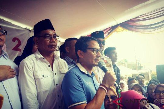 Sandiaga tetap jalankan pesan kenegaraan Sinta-Yenny Wahid