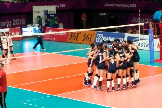 China meraih medali emas voli putri