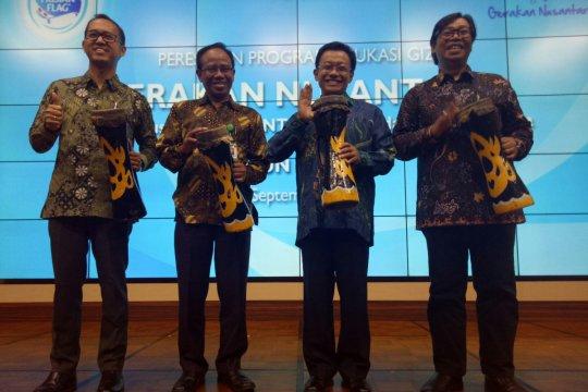 Gerakan Nusantara 2018 akan jangkau 700.000 siswa