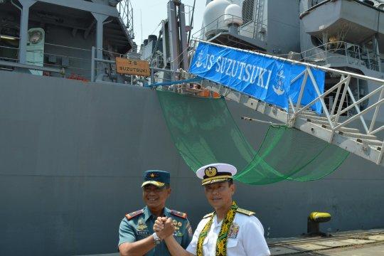 3 Kapal Perang Jepang berlabuh di Tanjung Priok
