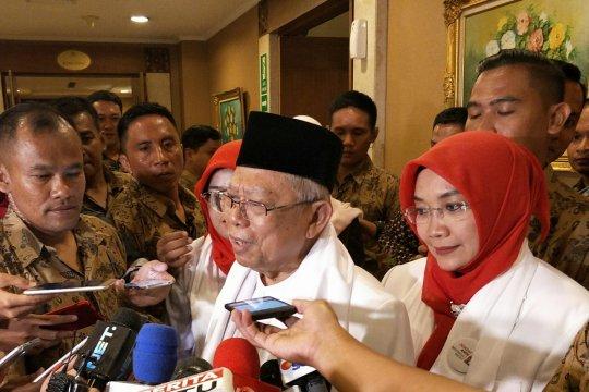 "Ma'ruf ingin bangun ""landas pacu"" ekonomi Indonesia"