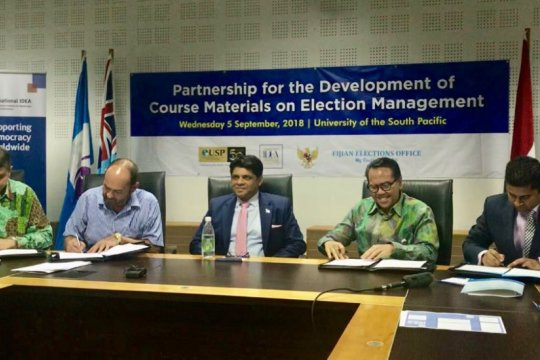 Indonesia bantu Fiji susun kurikulum Pemilu