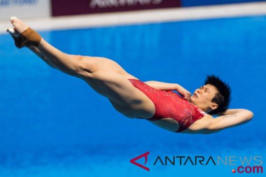 Asian Games (Loncat Indah) - Shi Tingmao ingin jaga kondisi hingga Olimpiade 2020