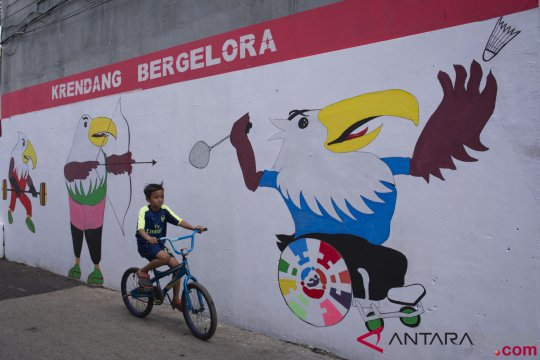 Mural Asian Para Games