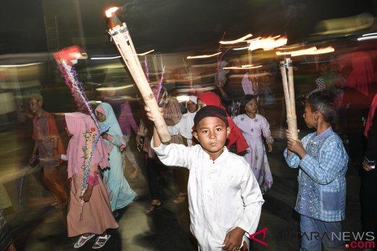 1.500 warga Pulogadung pawai tahun baru Islam