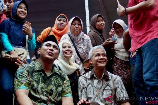 Ganjar belum ditunjuk sebagai jurkam Jokowi-Ma