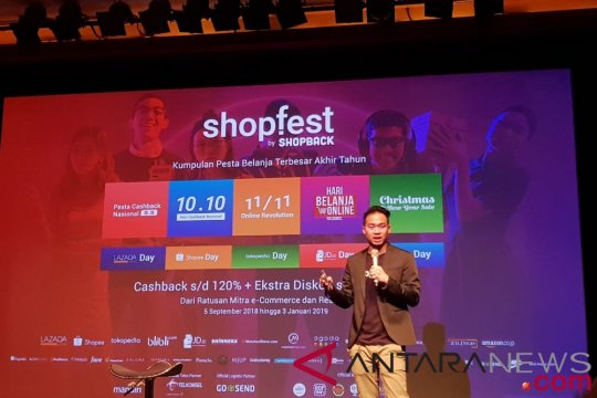 Shopback gelar pesta belanja online di Shopfest