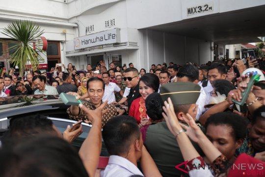 Para ibu bangsa terpukau video Asian Games Presiden Jokowi