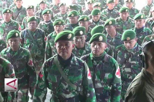 TNI kirim bantuan ke Donggala via Malang