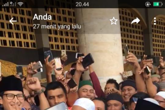 Sandiaga bertemu dengan Gubernur Maluku terpilih
