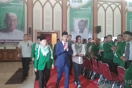 Jokowi minta caleg PPP sampaikan realisasi program-program pemerintahannya