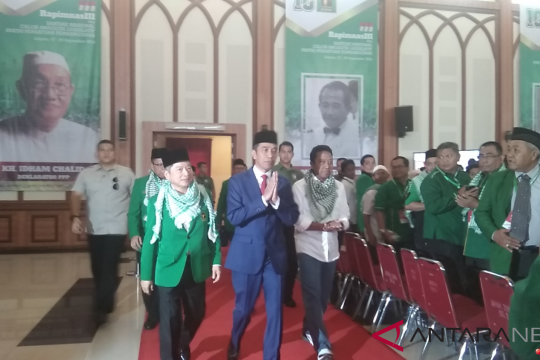 Presiden Jokowi tiba di Rapimnas III PPP