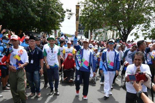Obor APG 2018 Ternate Gelorakan Kesetaraan Disabilitas