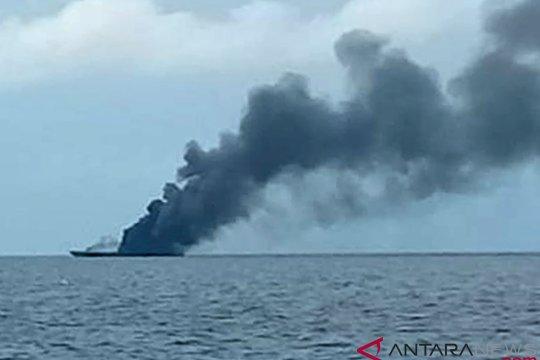 Kapal terbakar di Banggai Laut, delapan tewas