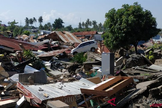 Perekonomian kota Palu lumpuh total pascagempa