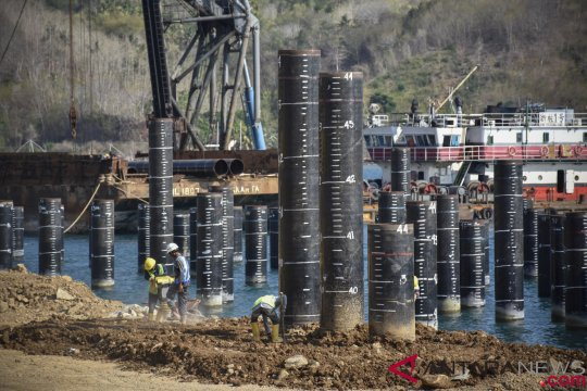 Target Pengoperasian Pelabuhan Gili Mas