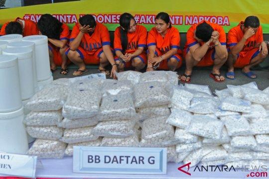 Polda Jatim musnahkan barang bukti narkotika senilai Rp28 M lebih