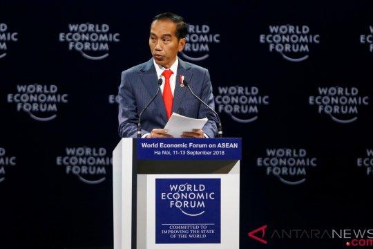 Presiden analogikan ekonomi global dengan film Avenger