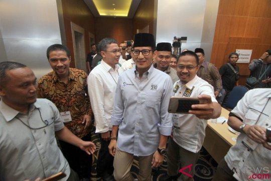 Sandiaga Hadiri Rampimnas Tim Pemenangan Pemilu PKS