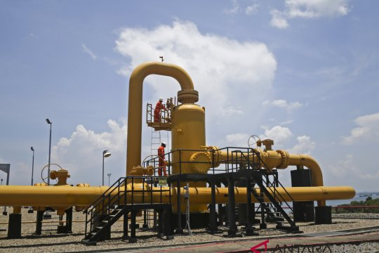 SKK Migas pastikan pasokan gas ke Singapura kembali normal