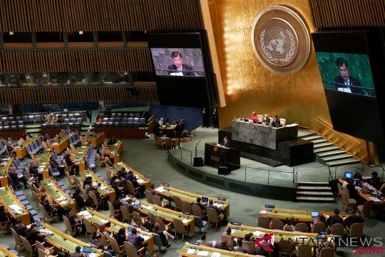 Pesan perdamaian Indonesia menggema di sidang umum PBB