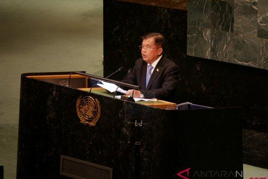 Wapres membahas perdamaian Palestina saat bertemu Netanyahu