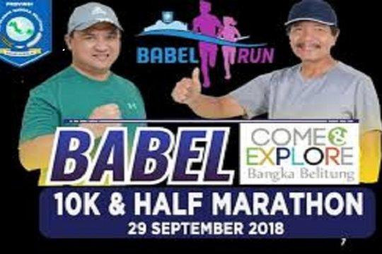 Ribuan pelari nasional ikuti Babel Run 2018