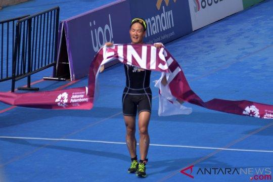 Jepang rebut medali emas nomor elit putra triathlon