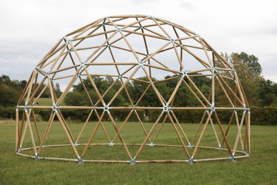 """ITB bangun """"geodesic dome"""" di Lombok"""