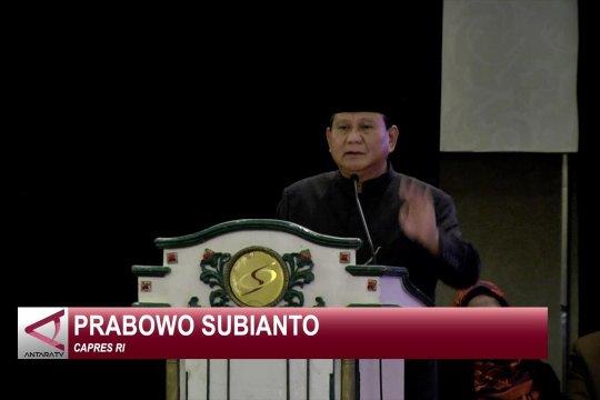 Prabowo ajak segenap bangsa membangun visi-misi