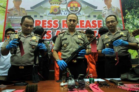 Polisi Ringkus Perompak Pembunuh Brigadir Polisi