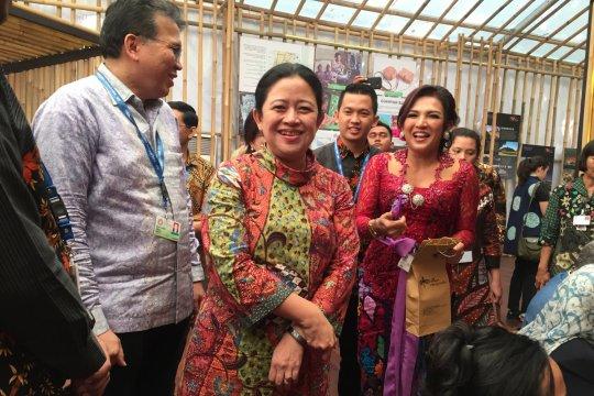 Saat Puan Maharani kunjungi Paviliun Indonesia