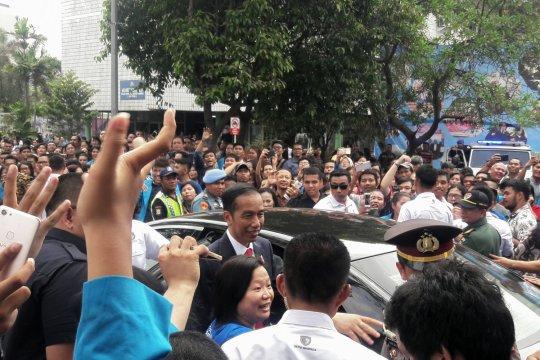 "Jokowi cerita main ""Mobile Legend"" kepada mahasiswa UKI"