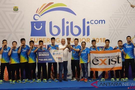 Jungkalkan Djarum, Exist rebut Piala Hariyanto Arby