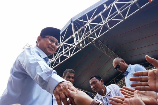 Prabowo menyesal dulu tidak suka minum susu