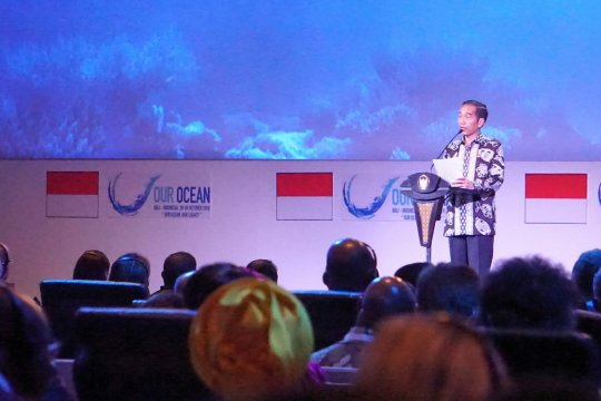 Presiden: Jangan terlambat berbuat untuk laut kita