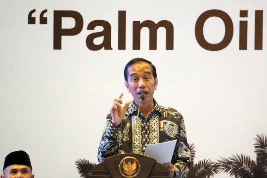 Jokowi soroti rumitnya dana peremajaan kelapa sawit