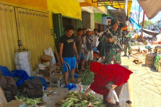 Aparat TNI/Polri pulihkan keamanan di Sulteng