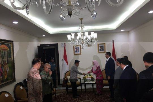 Wapres bertemu Wakil PM Malaysia bahas bantuan untuk Palu