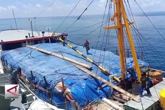 TNI AL gagalkan penyelundupan 194 ton rotan