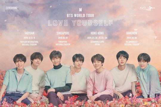 """Love Yourself: Answer"" BTS bertahan sembilan pekan di Billboard 200"