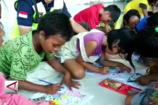 PMI lakukan trauma healing pada korban bencana Sulteng