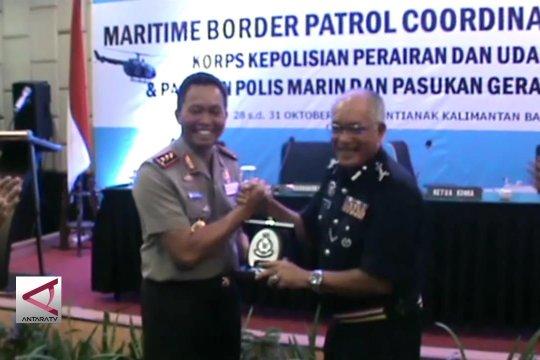 Polri dan PDRM koordinasi pengamanan  RI-Malaysia