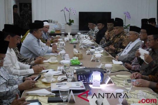 Wapres gelar pertemuan dengan pimpinan ormas Islam